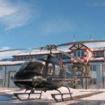 Перевозка тела (груз 200) на AS350 B2 Ecureuil